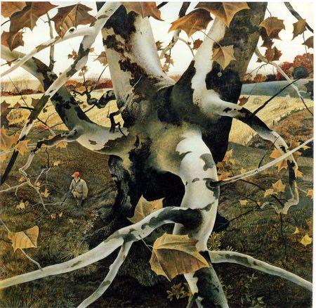 Andrew Wyeth- живопись длясозерцания иразмышления. Изображение № 46.
