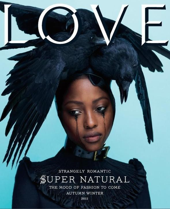 Изображение 1. Няша Матонодзе снялась для обложки Love.. Изображение № 1.