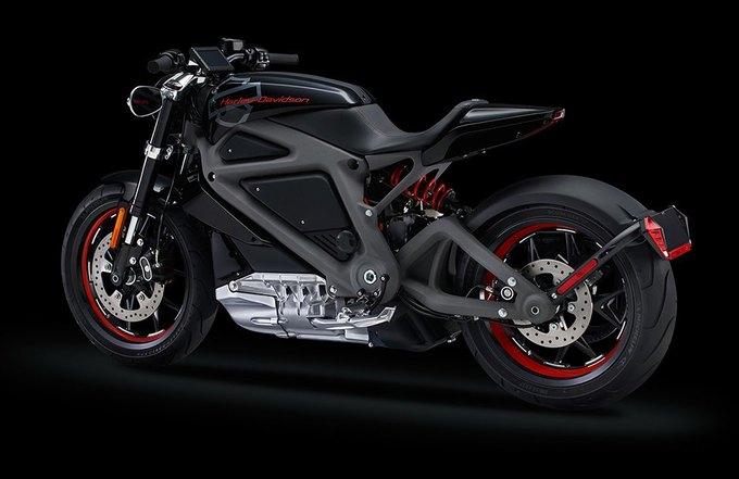Harley-Davidson показал свой первый электробайк. Изображение № 7.
