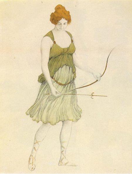 ЛевБакст – «арт нуво» втеатре. Изображение № 6.