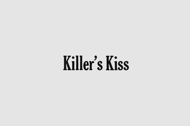 Шрифт с постера для фильма «Поцелуй убийцы». На нём использованы Cheltenham, Futura, Trade Gothic. Изображение № 15.