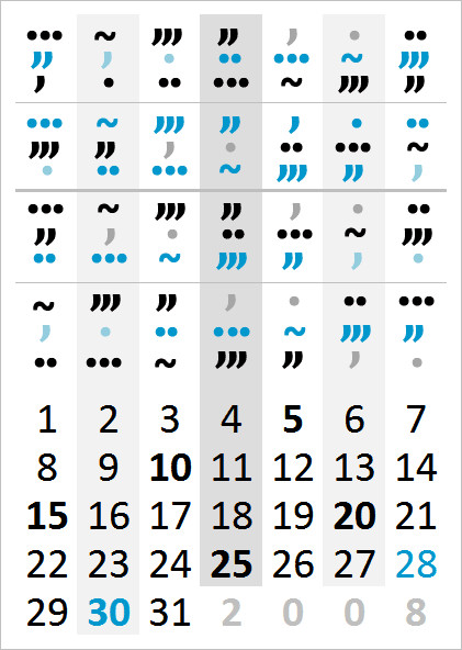 Куча способов считать деньки!. Изображение № 4.
