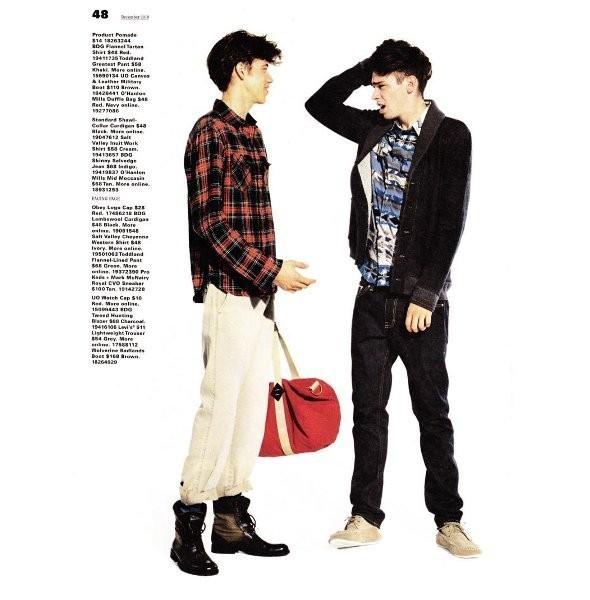 Изображение 13. Мужские лукбуки: Pull & Bear, Urban Outfitters и Sibling.. Изображение № 13.