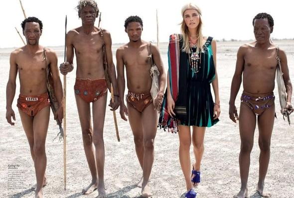 Съёмка: Изабель Лукас для австралийского Vogue. Изображение № 8.