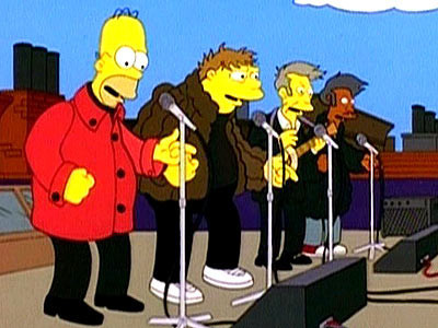 Bands to watch in Simpsons. Изображение № 4.