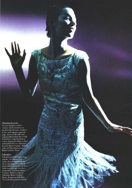 Архивная съёмка: Кейт Мосс для Harper's Bazaar, апрель 1998. Изображение № 3.