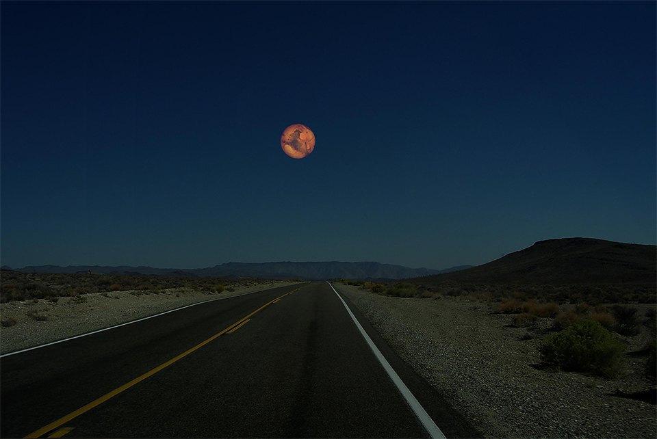 Что будет, если заменить Луну планетами Солнечной системы. Изображение № 1.