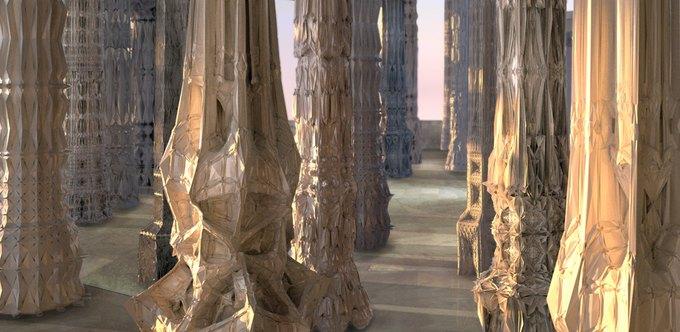 Архитекторы создали гротескные колонны на 3D-принтере. Изображение № 2.