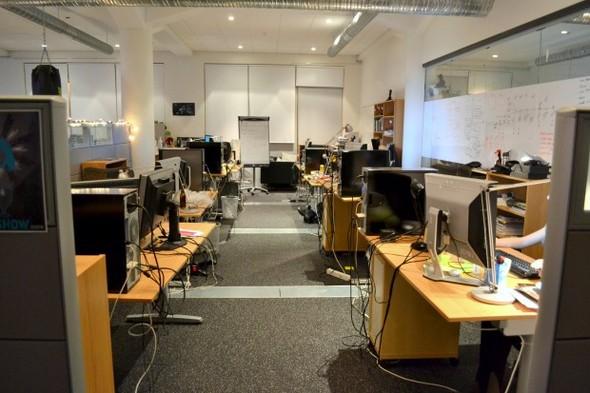 Студия CCP в Рейкьявике, где делают онлайн-игру EVE. Изображение № 4.