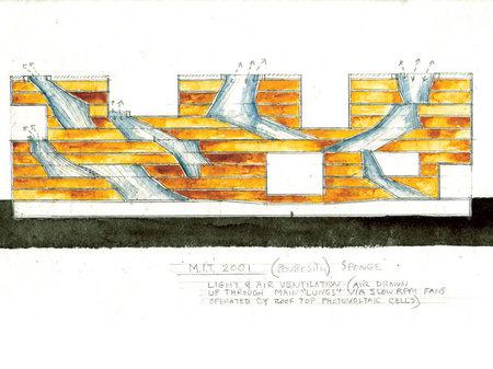 Архитектурные акварели стивена холла. Изображение № 17.