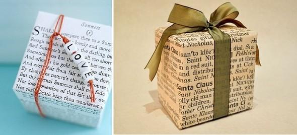55 идей для упаковки новогодних подарков. Изображение №107.