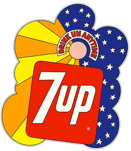 Графика 70-х thegreat hippie 7Up. Изображение № 21.