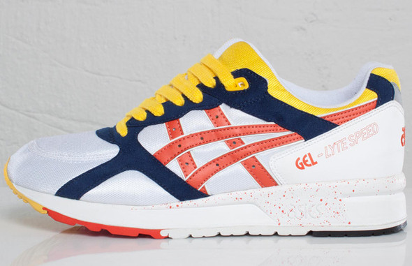 Asics Gel-Lyte Speed Tomato Red. Изображение № 5.