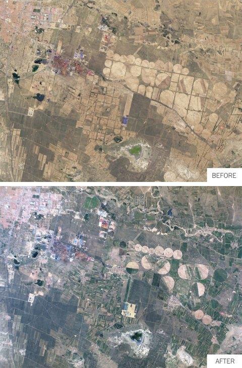 Строительство в окрестностях города Уланчаб (Монголия) в течение года. Изображение № 4.