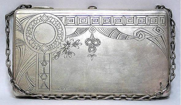 редикюль 1910-1917. серебро. Изображение № 16.