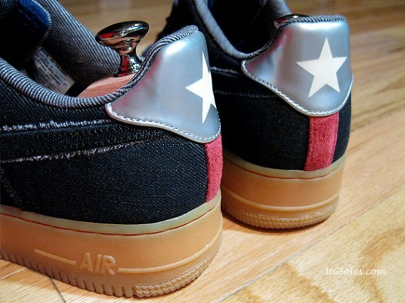 Nike Air Force 1 Bespoke Bone Rack by Jason Curtin. Изображение № 5.