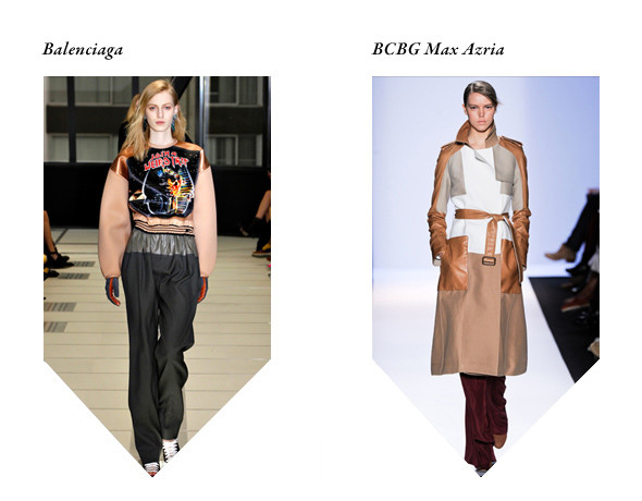 Balenciaga: Warm In The Winter — «Glass Candy»; BCBG Max Azria: Justice — «On'n'On». Изображение № 3.