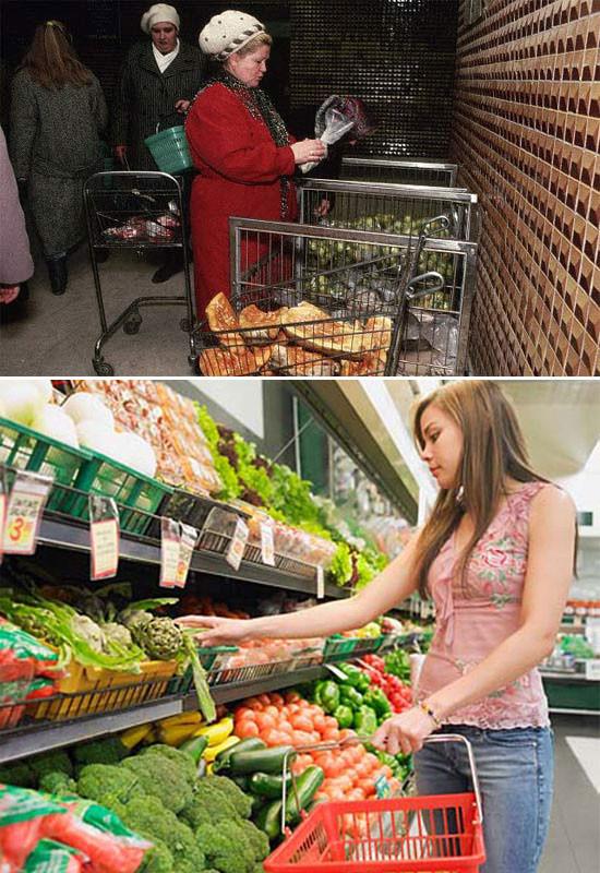 Как изменились прилавки магазинов за 20 лет. Изображение № 19.
