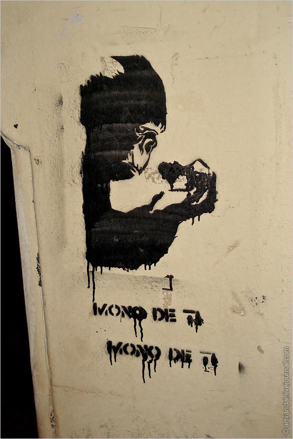 Стрит-арт и граффити Валенсии, Испания. Изображение № 55.
