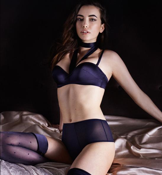 Лукбук осенне-зимней кампании бренда нижнего белья Myla. Изображение № 7.