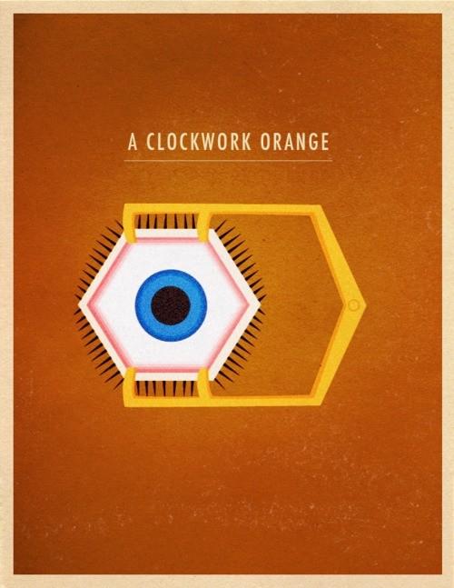 A Clockwork Orange - 20 кинопостеров на тему ультранасилия. Изображение № 14.