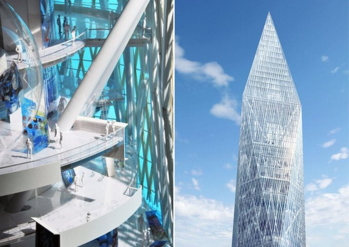 Под Сеулом собираются строить небоскрёб-невидимку . Изображение № 1.