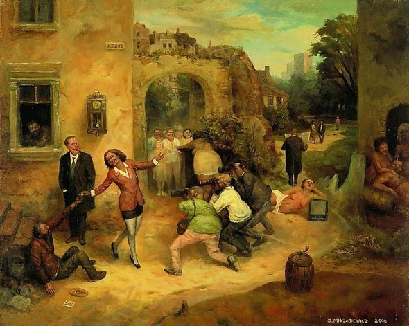 Jarosaw Miklasiewicz «Абсурдность жизни». Изображение № 4.