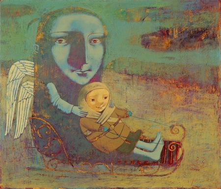 Наивная живопись Светланы Румак. Изображение № 31.