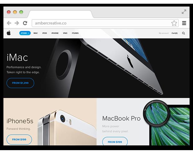 Редизайн онлайн-магазина Apple. Изображение № 3.