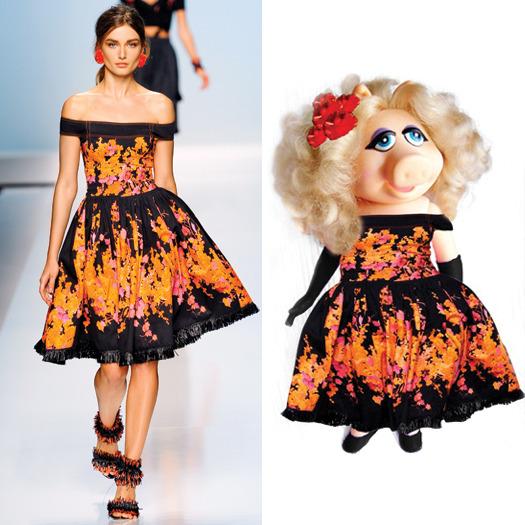 Мисс Пигги - Самая модная свинка мира.. Изображение № 16.