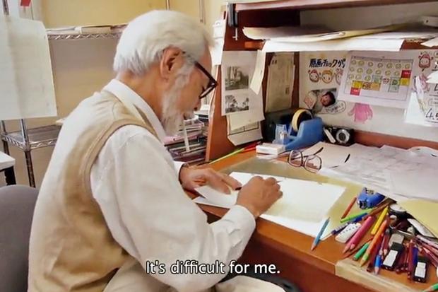 Отрывок из фильма про Миядзаки показал его перфекционизм. Изображение № 1.