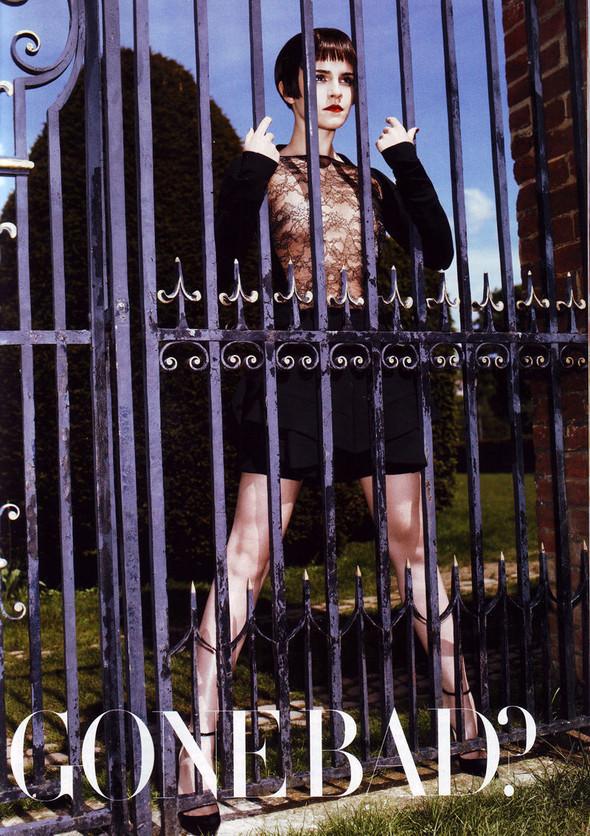Съёмка: Эмма Уотсон в британском Harper's Bazaar. Изображение № 7.