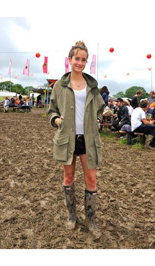 Изображение 8. Уличный стиль на фестивале Glastonbury.. Изображение № 8.