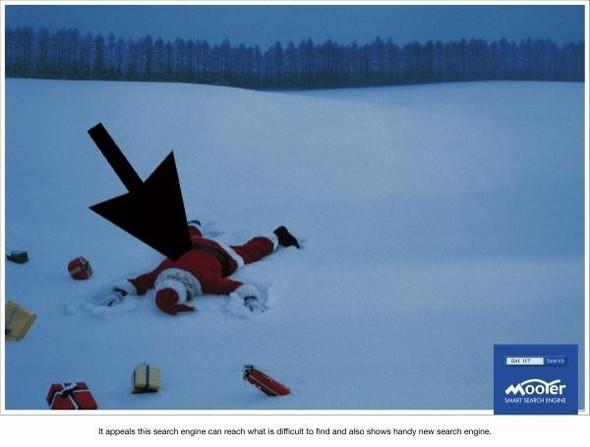 69 рождественских рекламных плакатов. Изображение № 61.