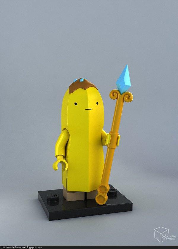 Концепт: персонажи Adventure Time в LEGO. Изображение № 13.