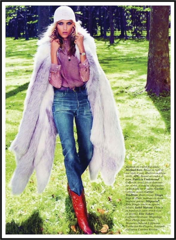 Съёмка: Аня Рубик для Vogue. Изображение № 10.