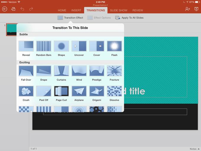 Microsoft выпустила Office для iPad . Изображение № 12.
