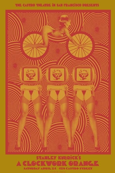 A Clockwork Orange - 20 кинопостеров на тему ультранасилия. Изображение № 17.