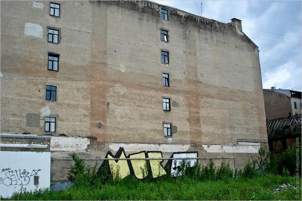 Стрит-арт и граффити Риги. Изображение № 9.