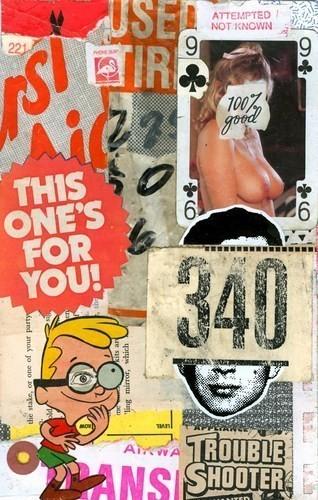 Изображение 52. Выставка: International Weird Collage Show.. Изображение № 52.