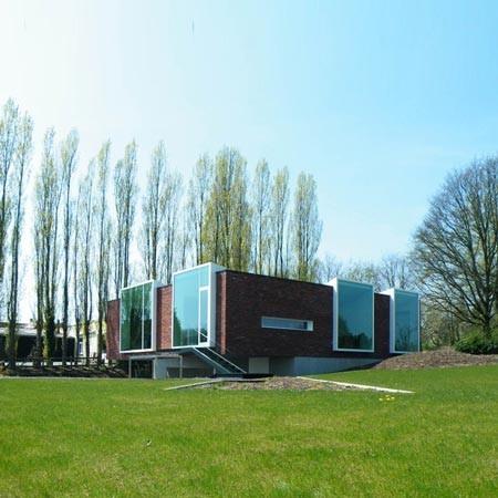 Офис в Бельгии от Atelier Vens Vanbelle. Изображение № 3.