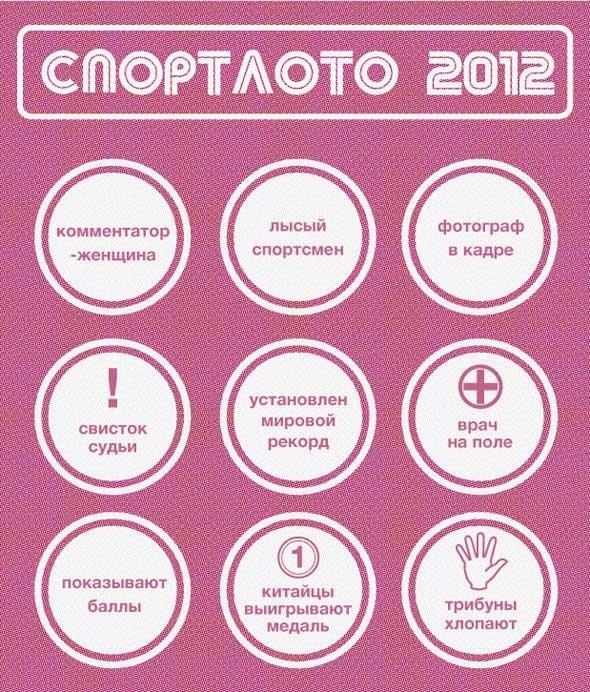 Спортлото-2012: Настольная игра по мотивам олимпийских трансляций . Изображение № 6.
