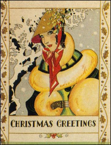 Новогодние fashion cards. Изображение № 20.