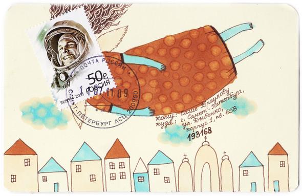 Mail art: почтовые радости своими руками. Изображение № 11.