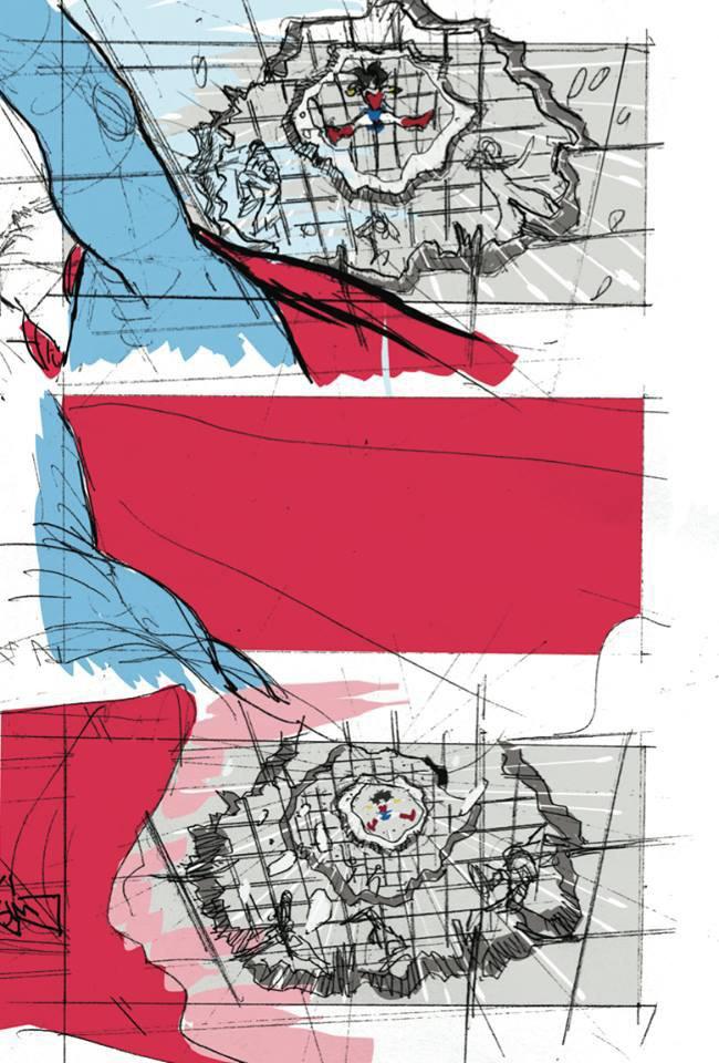 В Сеть попала раскадровка «Лиги справедливости» . Изображение № 2.