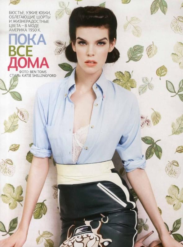 Съёмка: Меган Коллисон для российского Vogue. Изображение № 1.