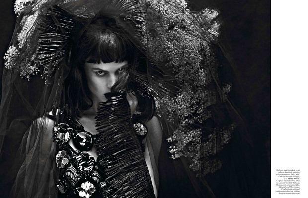 Новые съемки Dazed & Confused, Vogue, i-D и W Magazine. Изображение № 27.