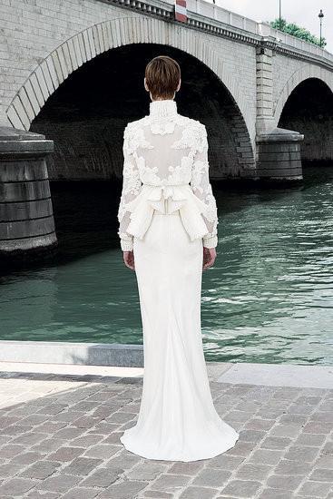 Изображение 4. Показана новая кутюрная коллекция Givenchy.. Изображение № 6.