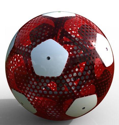 Мексиканские дизайнеры разработали футбольный мяч будущего. Изображение № 3.