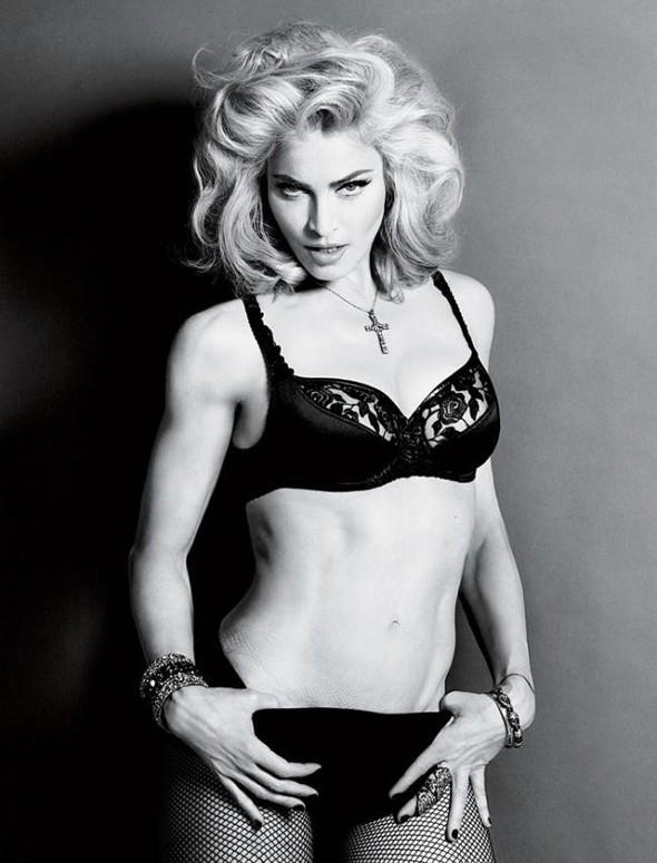 Мадонна в фото Мерта Аласа и Маркуса Пигготта для журнала Interview. Изображение № 11.